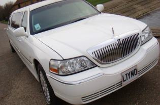 white limo corby